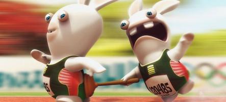 Les Lapins Crétins débarquent sur Kinect