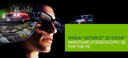 Vivez l'E3 en 3D avec NVIDIA 3D Vision Live