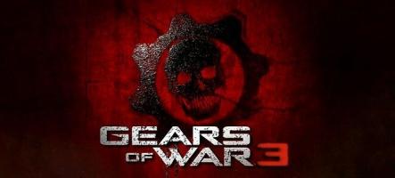 90 minutes de cinématiques pour Gears of War 3